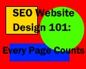 SEO website design 101: Every page counts