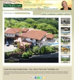 Costa Rica Real Estate Website Design
